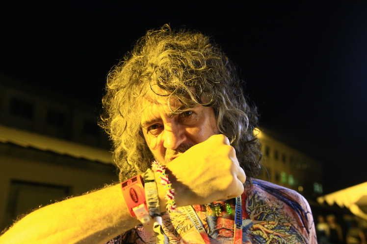 Wayne Coyne of The Flaming Lips  | Fuji Rock Festival '14