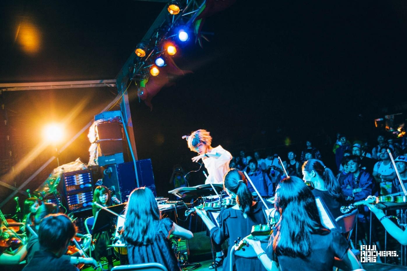 イロハオーケストラ | Fuji Rock Festival '17 | Photo by 木場ヨシヒト