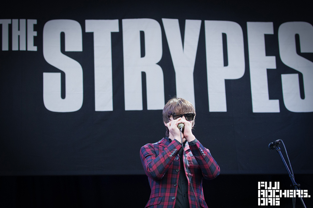 THE STRYPES | FUJI ROCK EXPRESS '14 | photo by 北村勇祐
