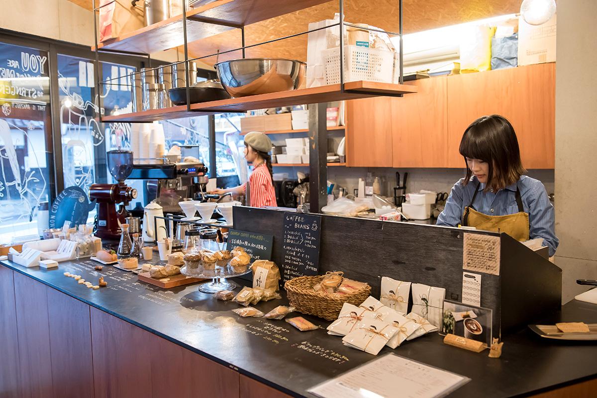大須にあるKANNON COFFEE本店
