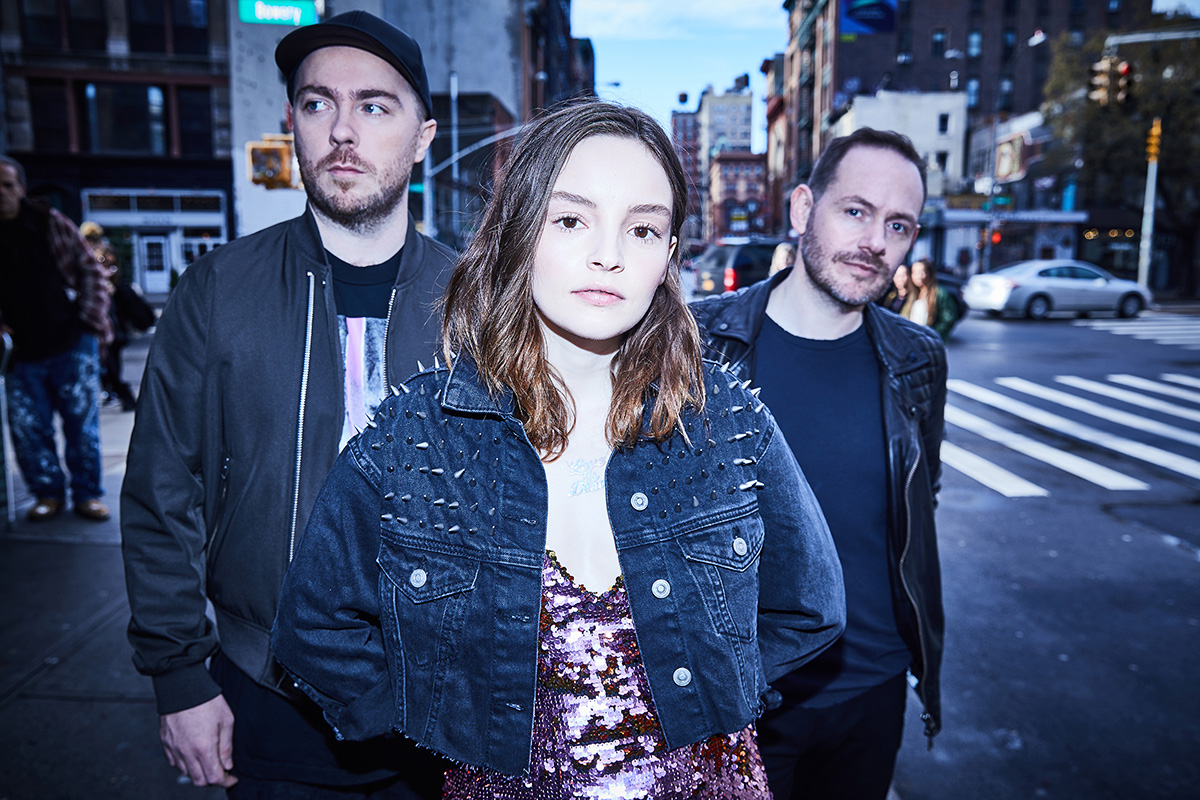 CHVRCHES | Photo courtesy of SMASH