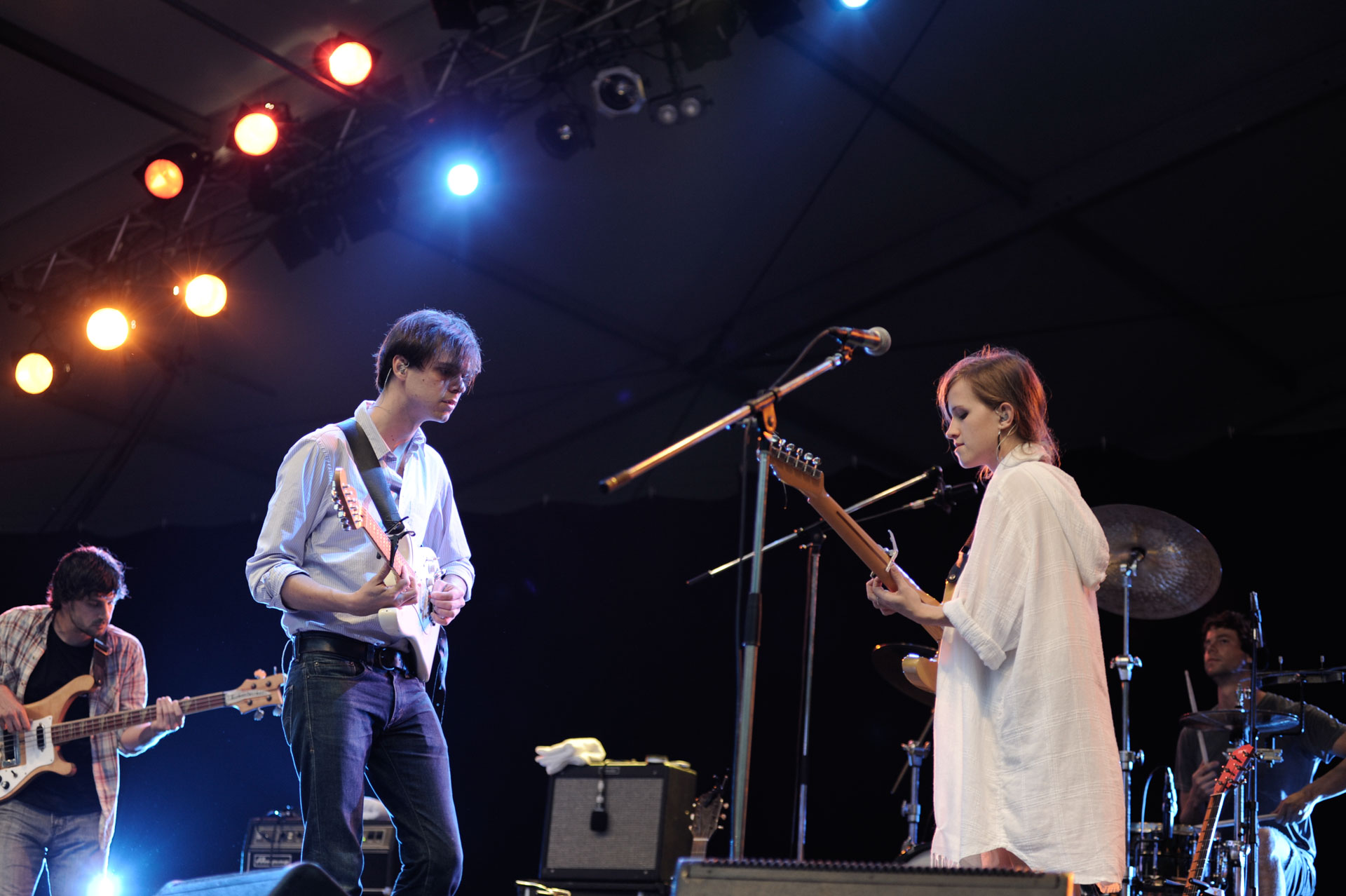 DIRTY PROJECTORS | Fuji Rock Festival'10 | Photo by 古川喜隆