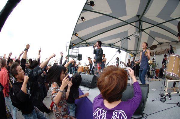 2007年、初年度の写真