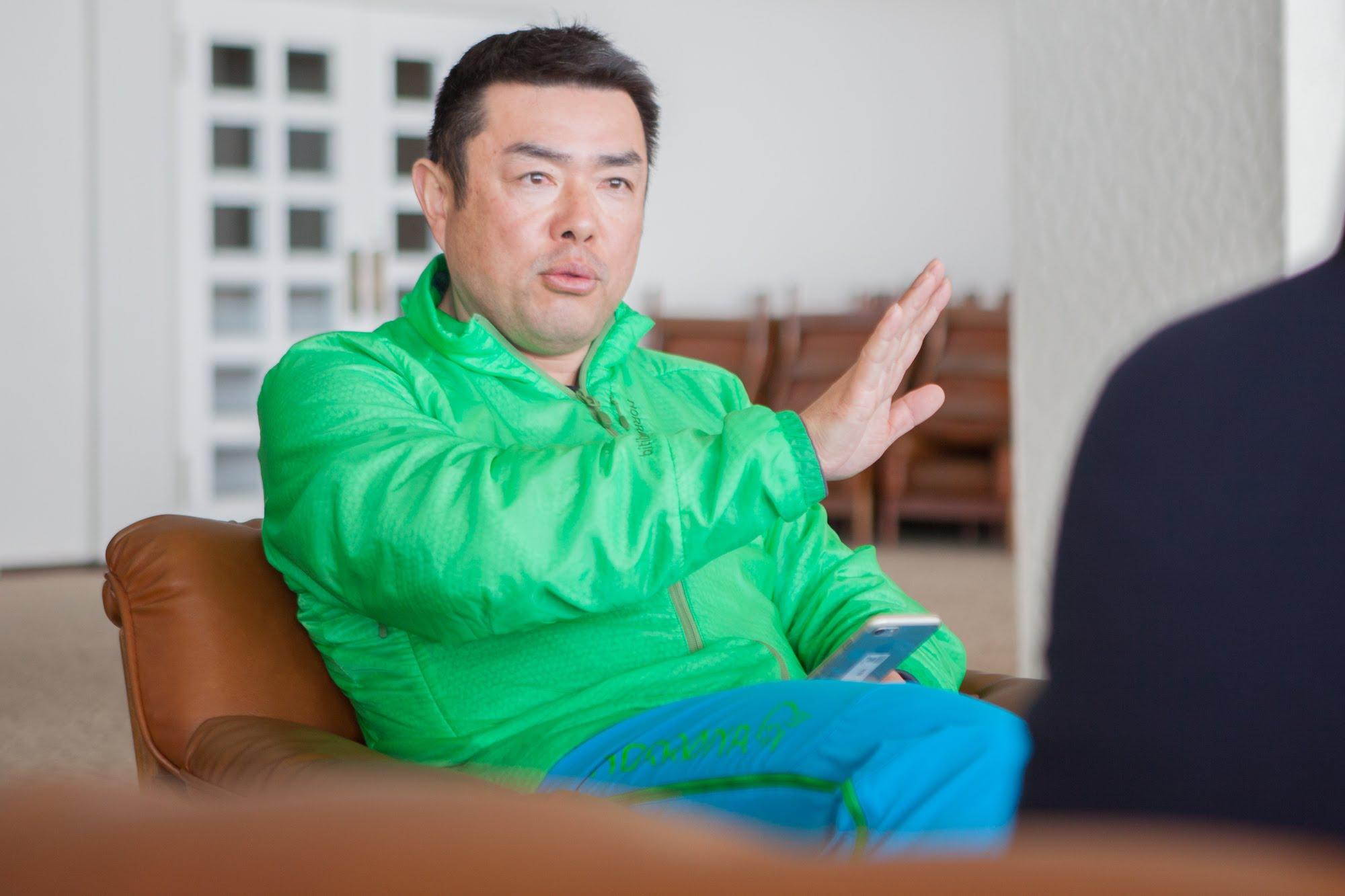 苗場スキー場・今泉さん