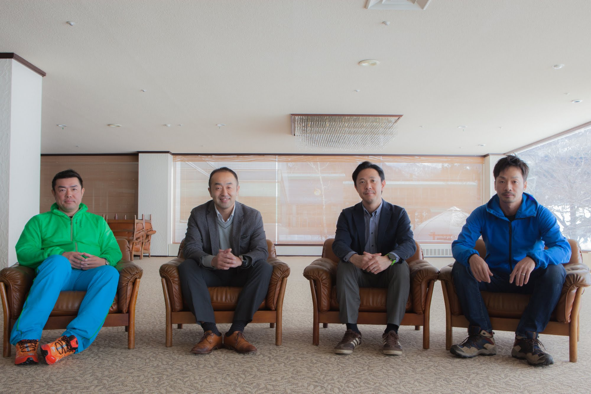 左から/今泉さん、井口さん、高橋さん、新井さん