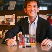 ▲『EarPeace』の販売を手がけている上田章裕さん