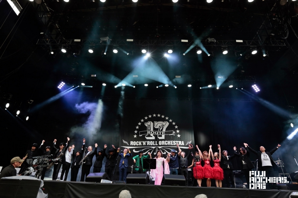 ROUTE 17 Rock'n'Roll ORCHESTRA   Fuji Rock Festival '17   Photo By 古川喜隆