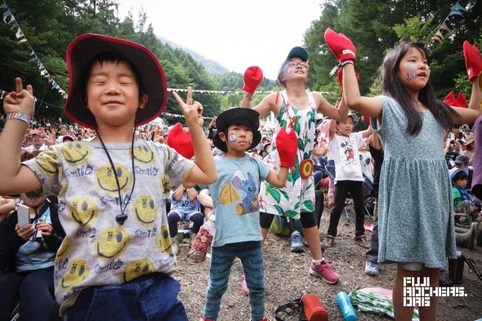 ケロポンズ   Fuji Rock Festival '16   Photo By MITCH IKEDA