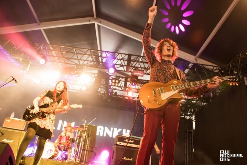 GLIM SPANKY | Fuji Rock Festival '15 | Photo by 平川啓子