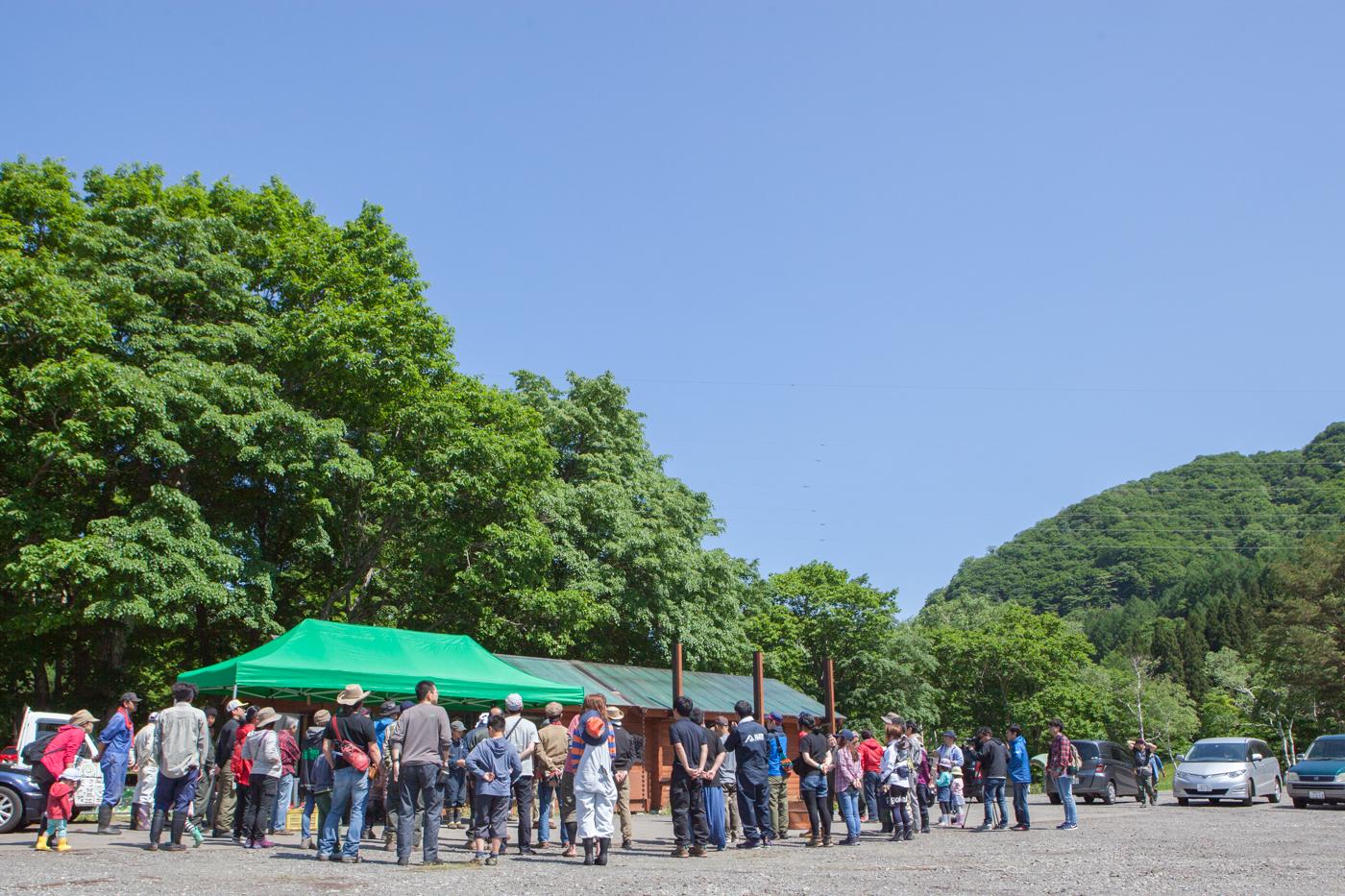 見事晴天に恵まれたボードウォーク・キャンプ当日 Photo by アリモトシンヤ