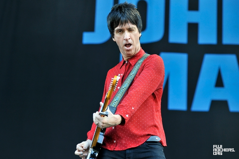 JOHNNY MARR | Fuji Rock Festival '15 | Photo by 熊沢 泉