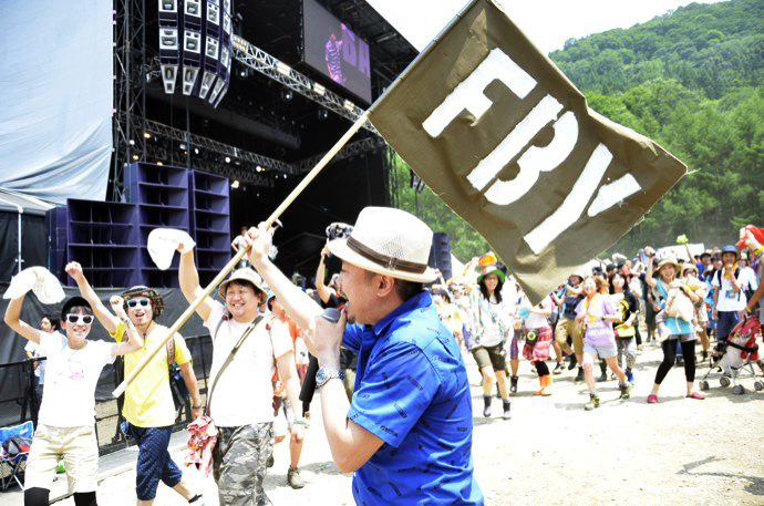 FRONTIER BACKYARD | Fuji Rock Festival '12 | Photo by suguta