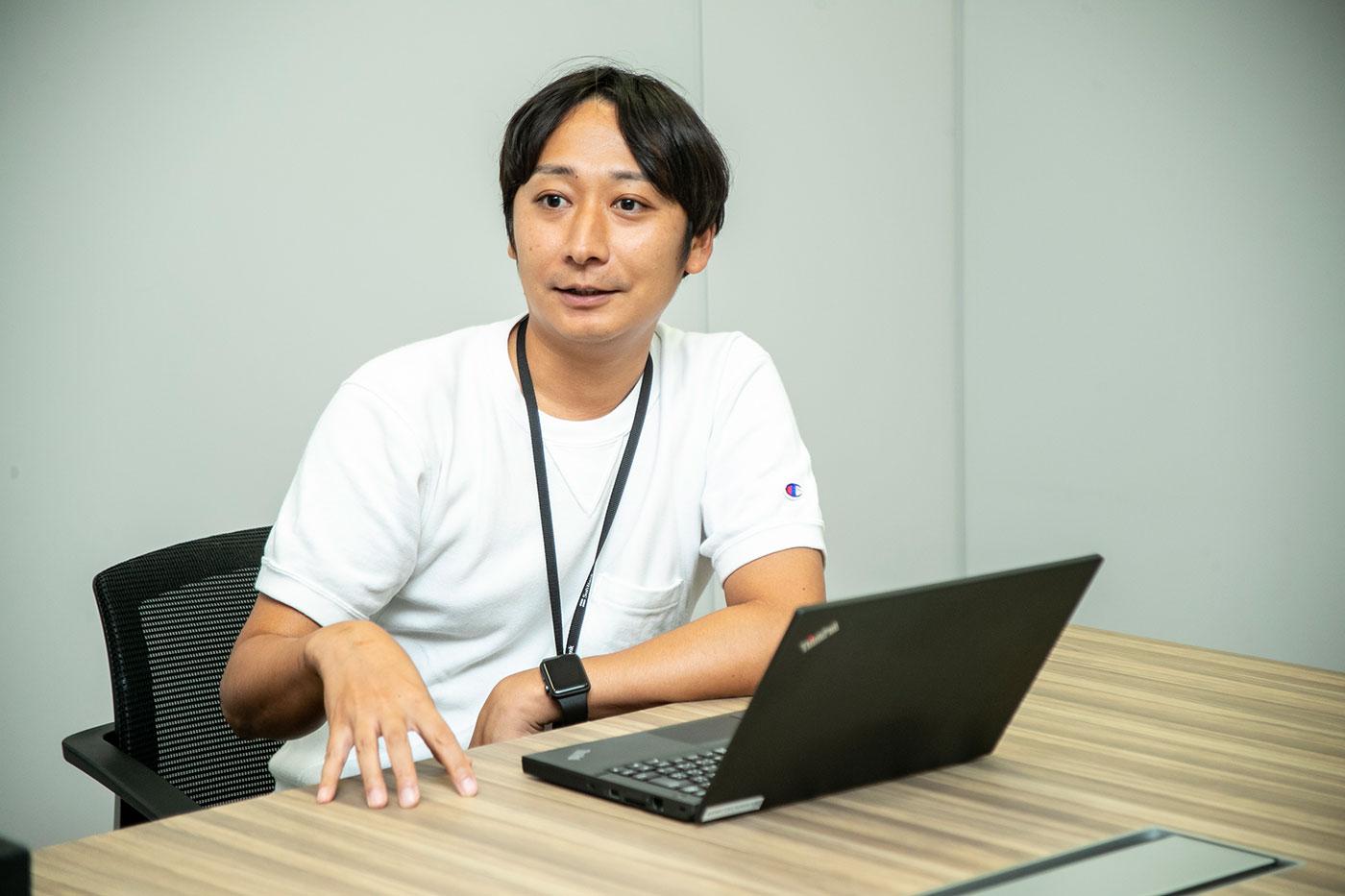 新井さん(Photo by 白井絢香)