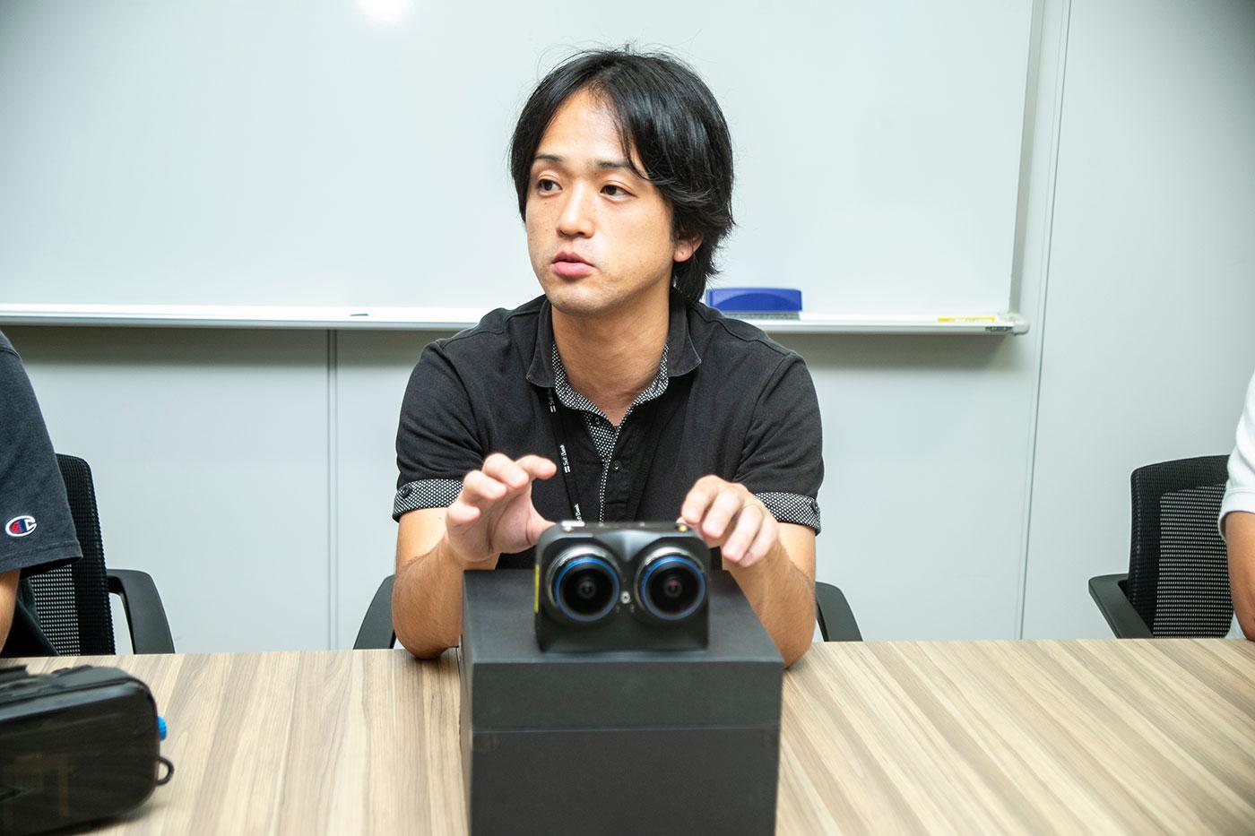 藤田さん(Photo by白井絢香)