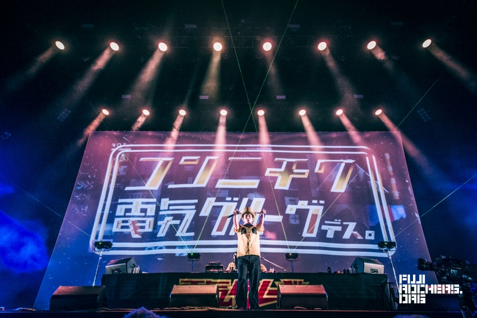 電気グルーヴ   FUJI ROCK FESTIVAL '16   Photo By サイトウマサヒロ