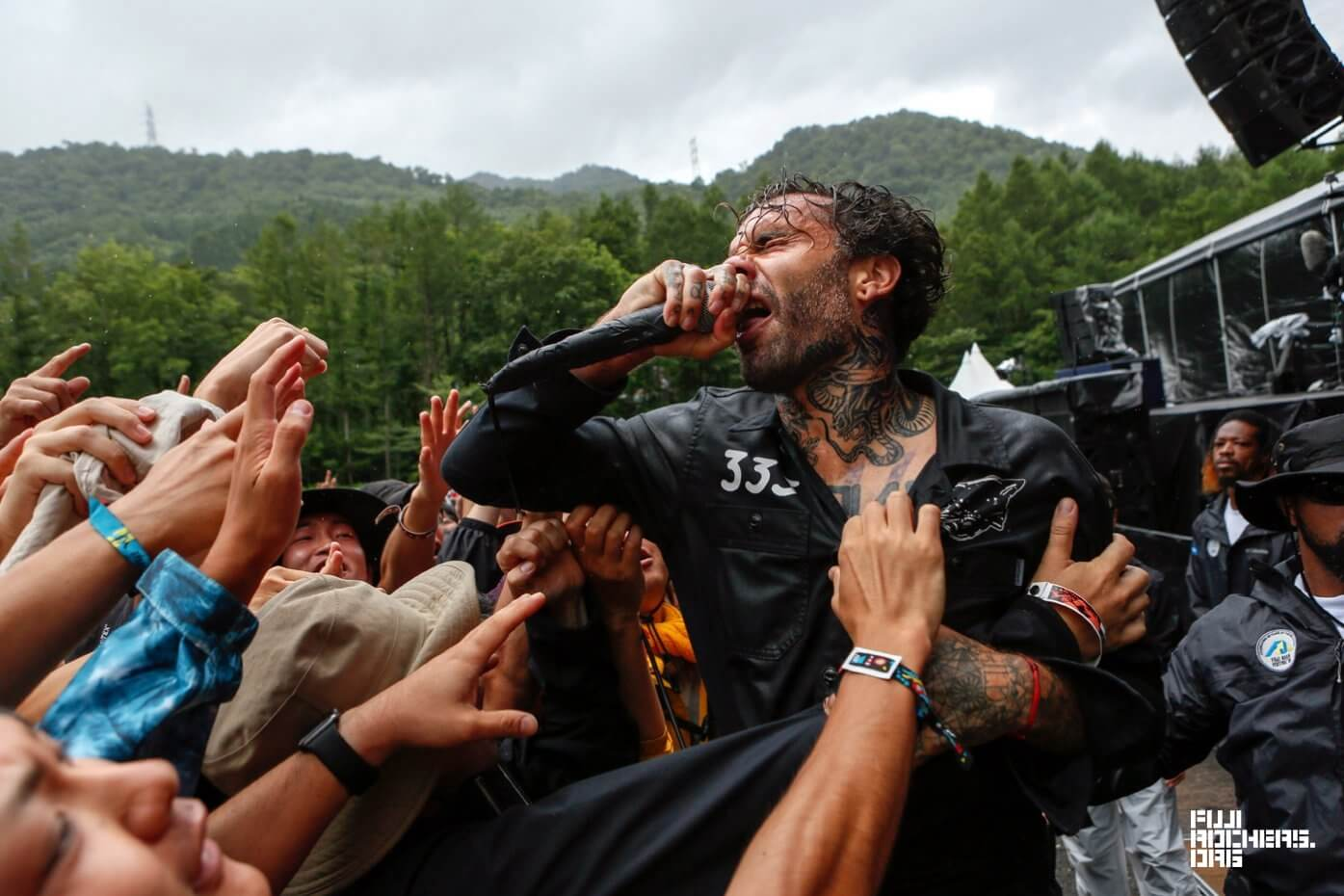 THE FEVER 333 | FUJI ROCK FESTIVAL '18 | Photo by 古川 喜隆