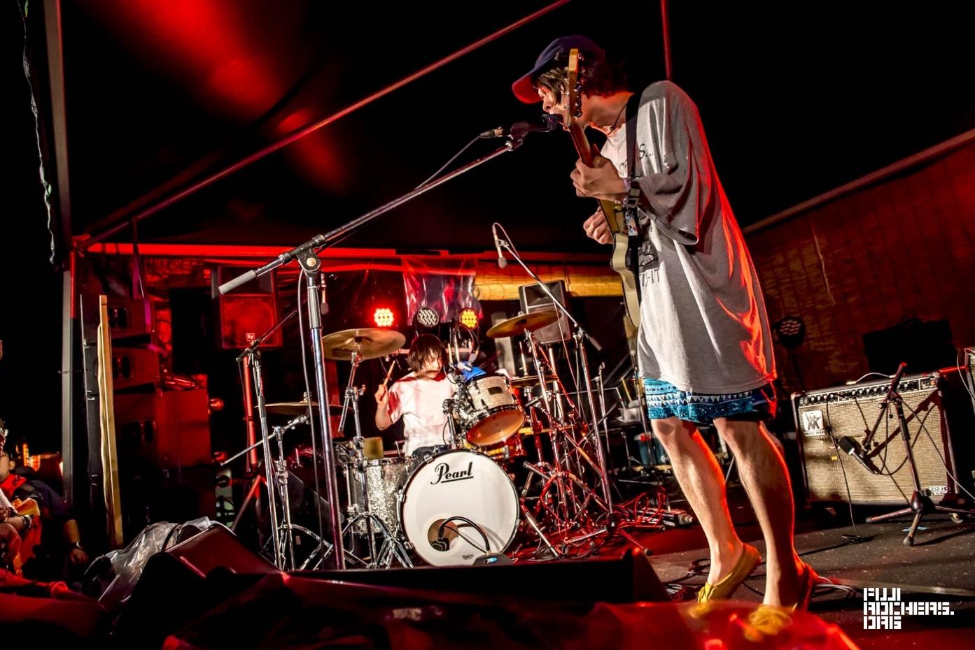 ドミコ | Fuji Rock Festival '17 | Photo by 安江正実