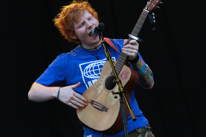ED SHEERAN | FUJI ROCK FESTIVAL '12 | Photo by 古川 喜隆