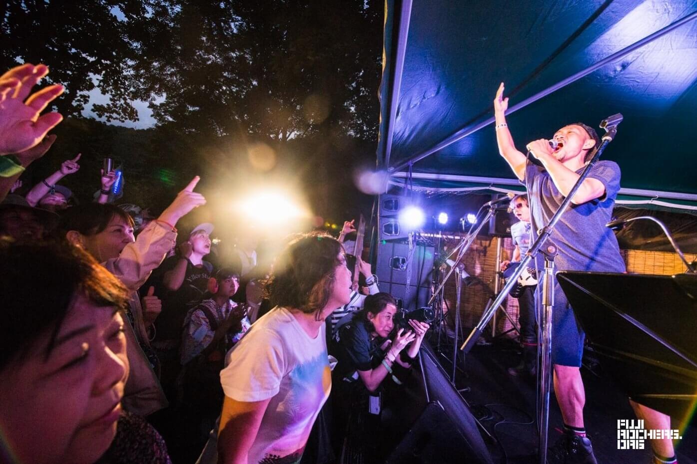 苗場音楽突撃隊 池畑潤二/井上富雄/花田裕之||Fuji Rock Festival '18| Photo by MASAHIRO SAITO