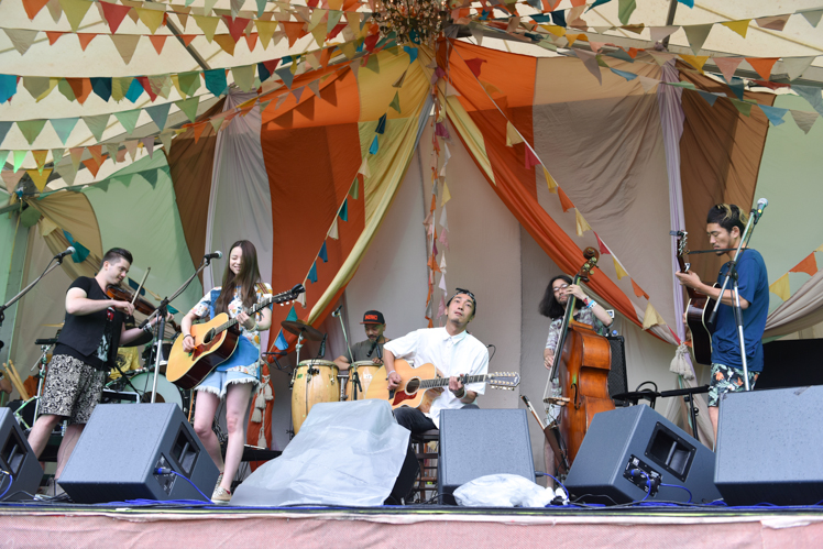 OVERGROUND ACOUSTIC UNDERGROUND | Fuji Rock Festival '14 | Photo by 森空