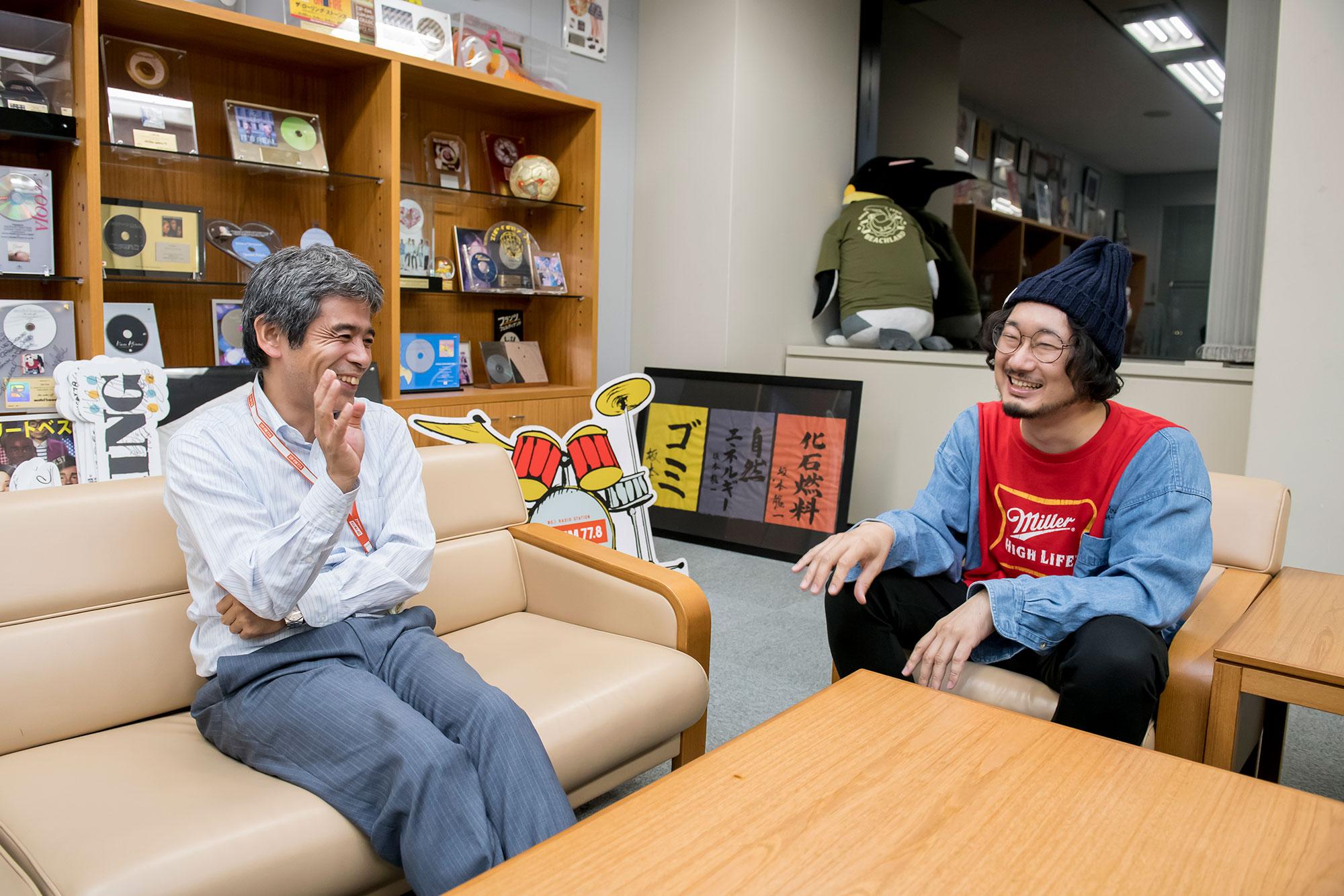 ZIP-FM 平井さん、キネマズ 宮下さん