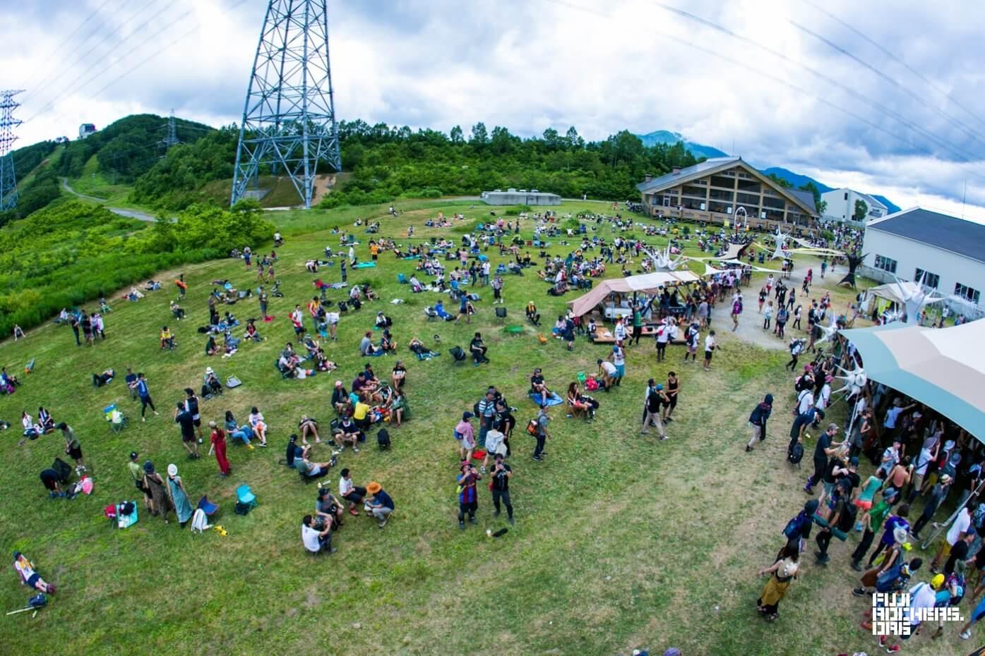 Fuji Rock Festival '18 | Photo by 白井絢香
