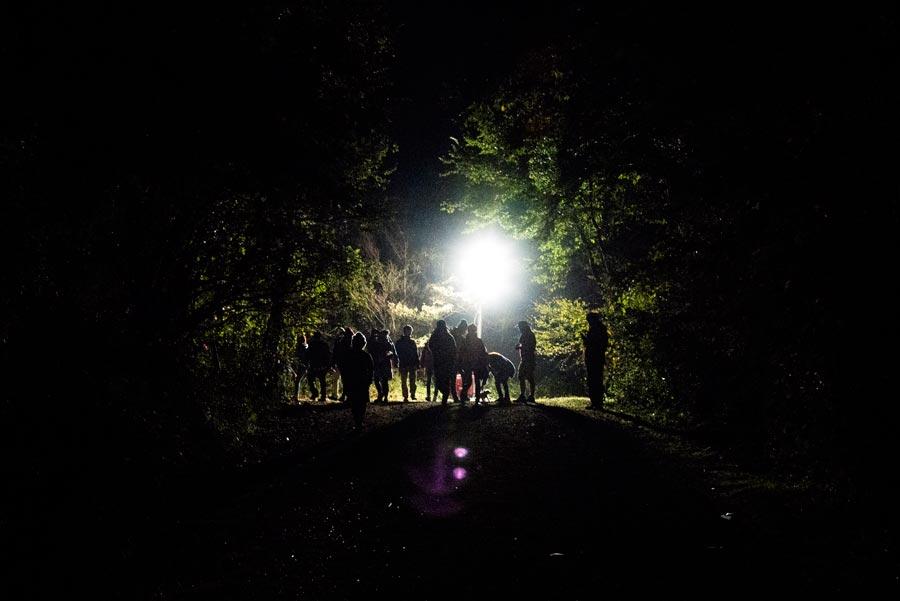 夜のSite B | Photo by 荒川菜摘