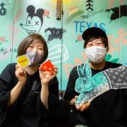 左:白倉さん(フジロック参加13回、新潟在住) 右:金子さん(フジロック未経験、新潟在住)